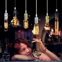 Buy 1lot/4pcs E27 LED Edison Bulb Vintage Lamp Evergy Saving Incandescent Bulbs AC220-240V Retro LED Filament Bulb Candle Spotlight for $16.99 in AliExpress store