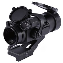 Hunting Riflescopes 32mm M2 Sighting Telescope Laser Gun Sight with Reflex Red Green Dot Scope for Picatinny Rail(China (Mainland))