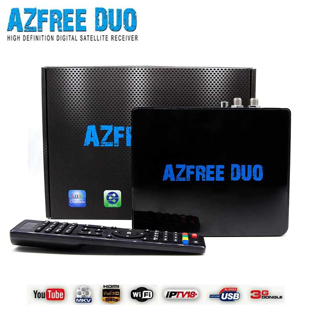 Receptor satellite digital hd azfree duo free shipping cost for Brazil(China (Mainland))