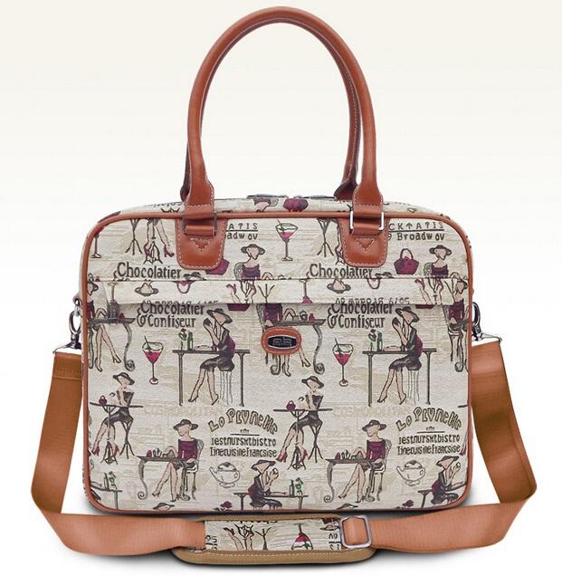 Hot Ladies Handbag For Laptop 14, For Macbook Air Pro 13.3, 13,14.1 Lady Notebook Bag,Women Messenger Purse,Free Drop Ship.<br><br>Aliexpress