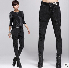 free shipping 2014 Casual Women Legging Warm Thicken Winter Leggings Slim Pencil Pants fashion Leggins Jeans Leggings Plus Size(China (Mainland))