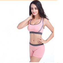 Bra Top Shorts Breathable