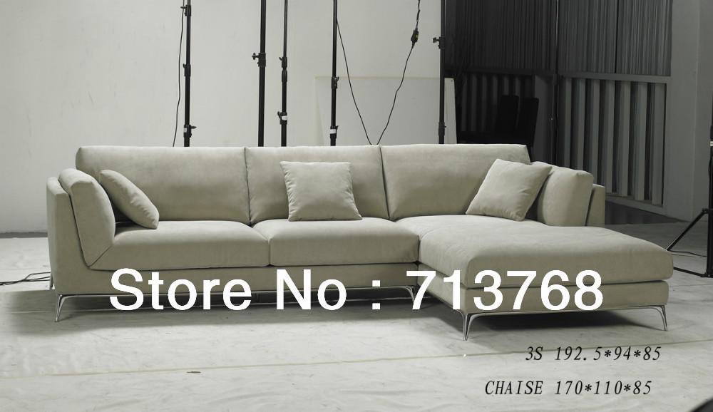 Washable Modern furniture / living room sectional / corner fabric sofa MCNO065(China (Mainland))