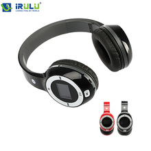 Folding Stereo Headphone Earphones Sport MP3 Player FM TF Card Slot LED Black Red Free Shipping 2015 New Hottest(China (Mainland))