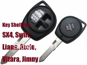 2 Button Remote Key Shell for SUZUKI SX4 Swift Liana Aerio Vitara Jimny
