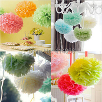 Paper Flower Ball Free Shipping 12pcs/Lot 10 Inches Multicolor Wedding Flower Ball Happy Birthday Decoration Party Decoration