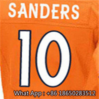 Men's #7 John #10 Emmanuel #18 Peyton #58 Von #88 Demaryius #94 DeMarcus Football Jersey 100% Stitched Customized(China (Mainland))