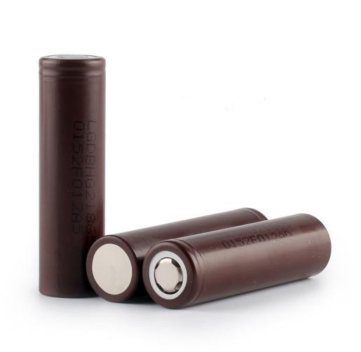ถูก 1ชิ้นใหม่ของแท้LG HG2 18650 3000มิลลิแอมป์ชั่วโมงแบตเตอรี่18650HG2 3.7โวลต์ปล่อย20A,ทุ่มเทอำนาจบุหรี่อิเล็กทรอนิกส์แบตเตอรี่