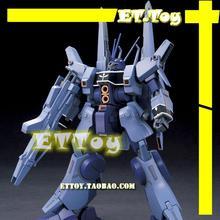 Free shipping action figures robot anime assembled Gundam MC HG 1:144 Du Ben Wolf luminous stickers original box gundam