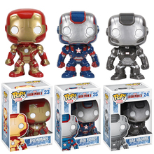 Funko POP Iron Man Marvel Action Figure Cute Ver. Iron Man Toy Movie Collection Gifts For Kids 3 Colors #F
