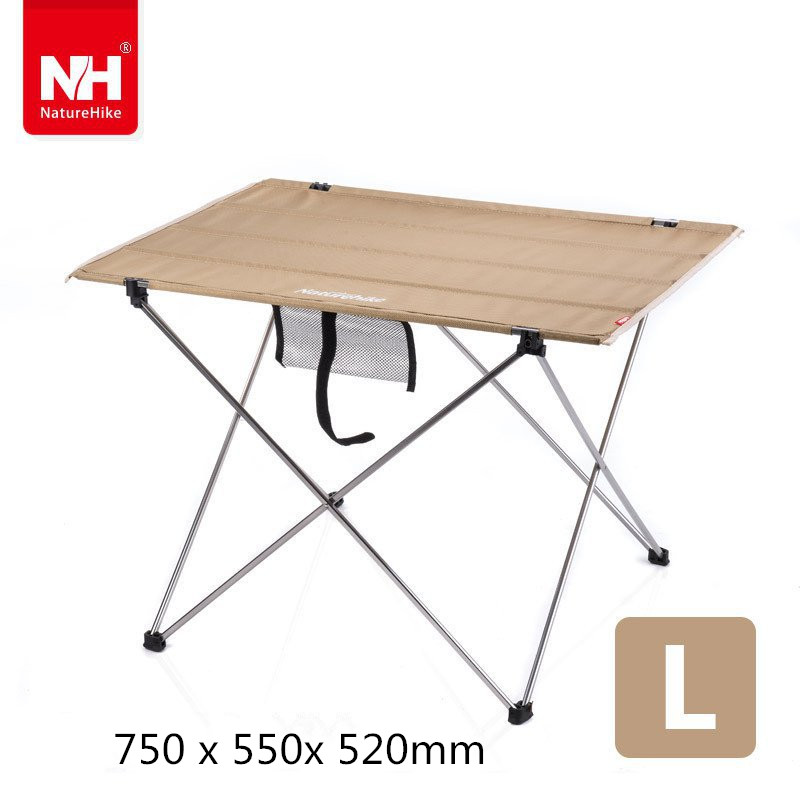 Lightweight Easy Carry Aluminum Frame Foldable Picnic Outdoor Camping Table(China (Mainland))