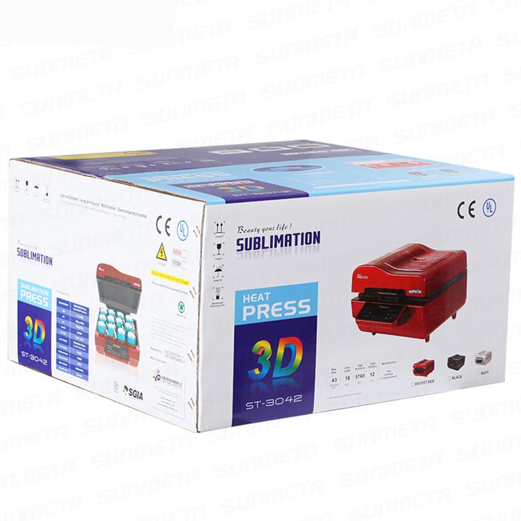 Купить 3D Многофункциональный Сублимация Машина Давления Жары 3D Вакуумной Сублимации Передачи Тепла Машина, Iphone случай Вакуумный Пресс