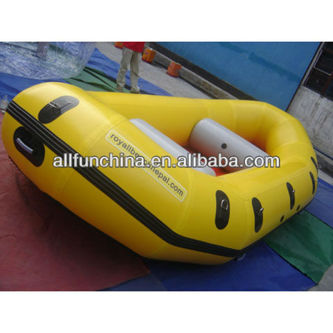 Free shipping ! inflatable sports boat for 3~4 person, size 2.95m Lx1.58m W, with customized logo(China (Mainland))