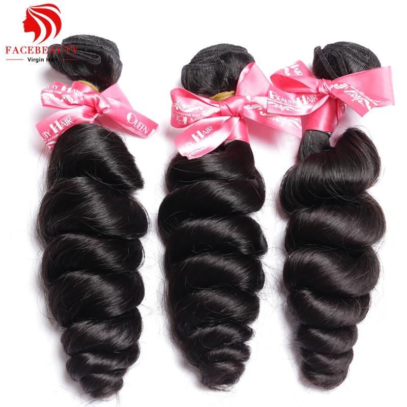 6A Unprocessed Brazilian Loose Wave Virgin Hair Weave Bundles deals 3 Pcs Lot Cheap Human Remy Hair Brazilian Wavy Weft Free Shi...