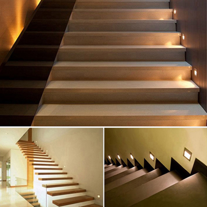 5Pcs Hot Sale High Quality Stairs Lights Recessed Led