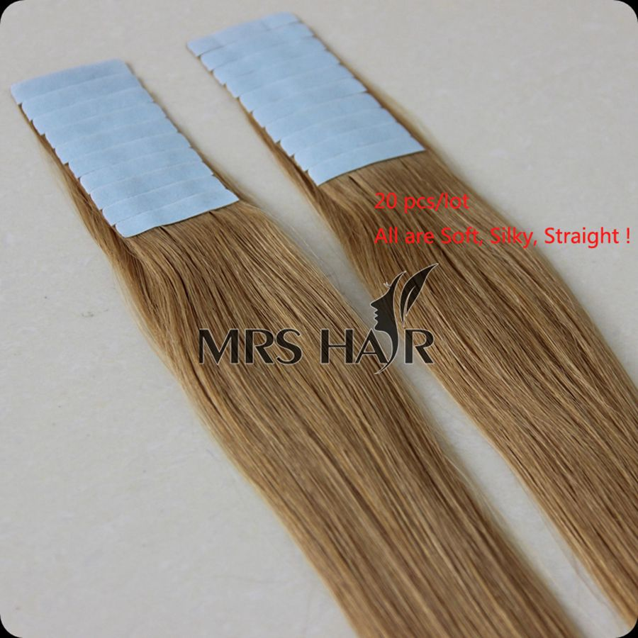 Glue In Blonde Extensions Human Hair Extensions