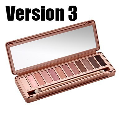 2015 New NK 1 2 3 12 Colors Eye Shadow Palette Makeup set to Faced Naked Urban Basics Eyeshadow Palettes with Brush Makeup(China (Mainland))