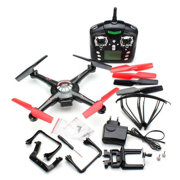 F16753/4 WLtoys V686K Wifi Video Real-time Phone FPV Quadcopter with Camera Headless Mode 2.4G 4CH 6-Axis Gyro RC Drone UFO RTF
