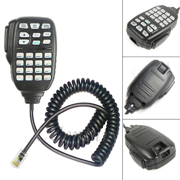 Portable 8 Pin Microphone Mic PTT DTMF HM-133 For ICOM Mobile Radio ID-800H ID-880H CB Transceiver IC-E880 IC-2720H IC-2725E(China (Mainland))
