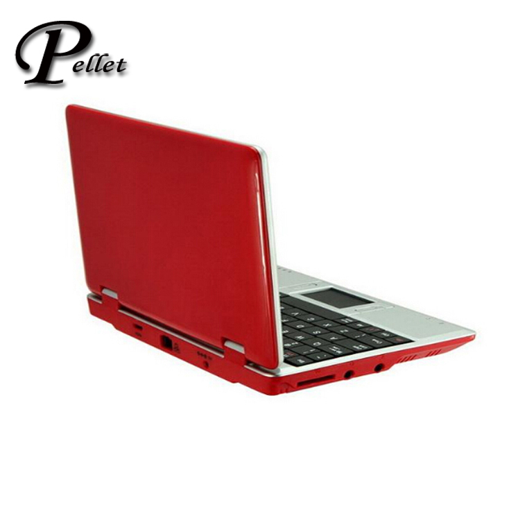 Shipping form USA,7' Netbook VIA 8650 with camera support skype MSN Sample Mini Laptop 7 inch Notebook 10pcs/lot(China (Mainland))