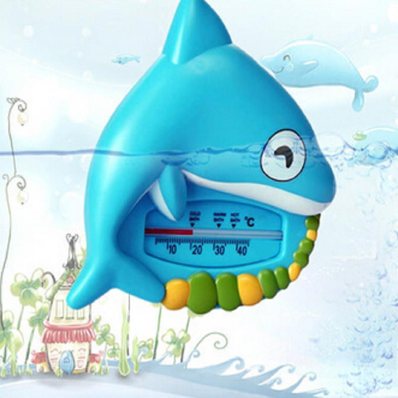 New children's baby Bath Tub Thermometer Dolphin children Floating water temperature Monitor gauge Tester Toys First Steps(China (Mainland))