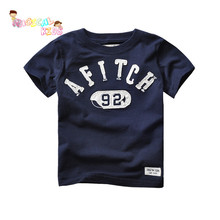 Kids Cartoon Style Short sleeved Round Neck Children T shirt Soft Cute Pattern Casual Clothing Hot