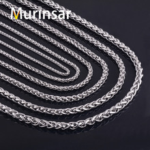Buy 316L Stainless Steel Chain Necklace Width 3 4 5 6 7 8mm Length Customized Round Link Chain Stainless Steel Jewelry Wholesale for $1.00 in AliExpress store