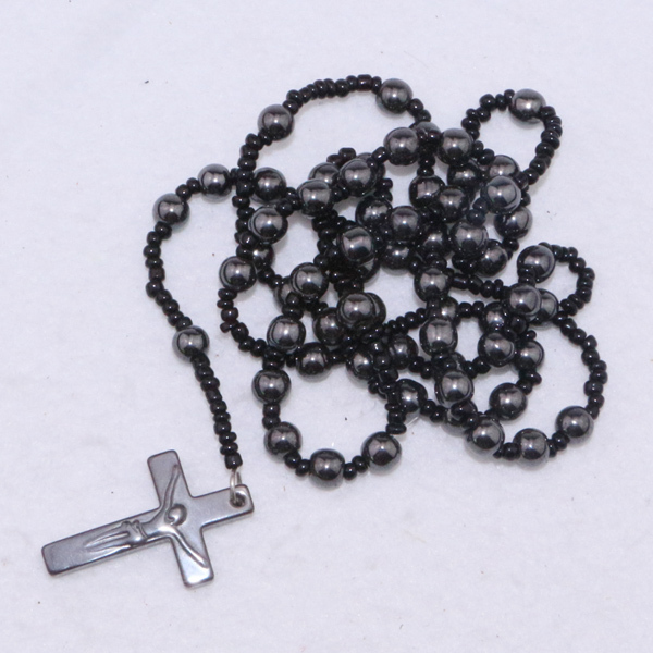 Rosary Cross Necklaces For Men Cross Rosary Necklaces