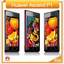 U9200 Original Huawei Ascend P1 U9200 Dual Core Cell phone 3G Android 4.0 Wifi GPS 8MP Support Multi-Language Free Shipping(China (Mainland))