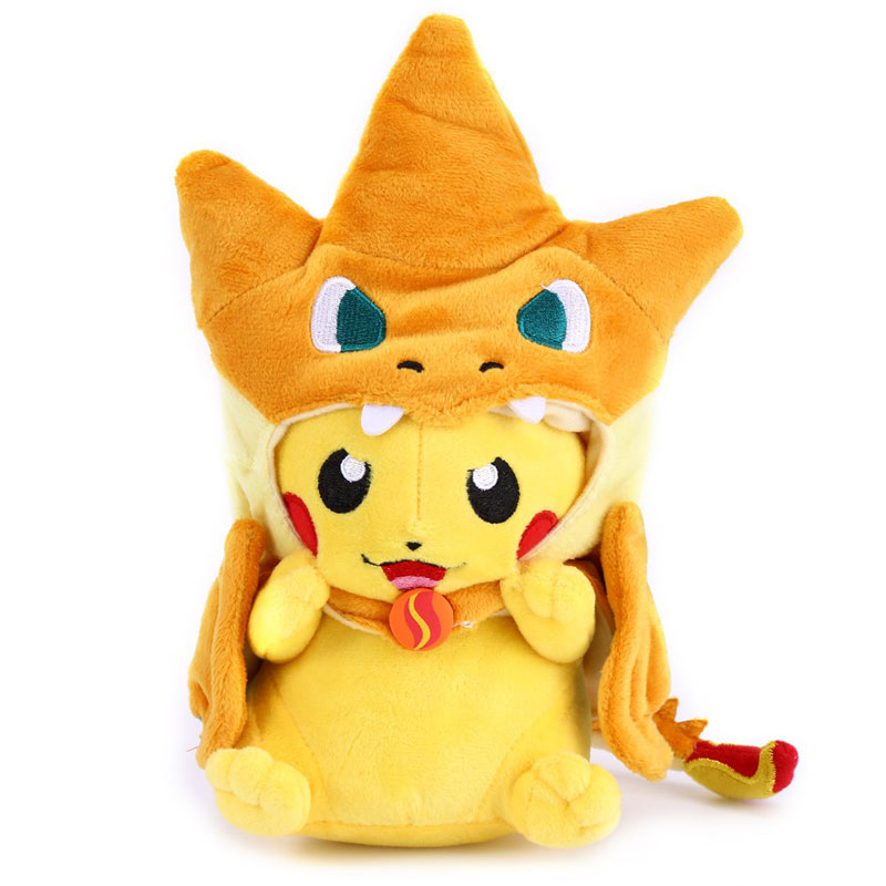Free Shipping Cute Popular Kawaii Pokemon Plush Toy 10 Inch Stuffed Cartoon Doll Plush Soft toys For Children(China (Mainland))