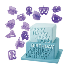 NEW 2015 40pcs Alphabet Letter Number Fondant Cake Biscuit Baking Mould Cookie Cutters ZH810(China (Mainland))