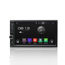 Cortex A9 Quad Core 1.6G 16GB Flash HD1024*600 Android 5.1.1 Universal 2 Din Deckless Car DVD Player GPS Navigation Stereo Radio