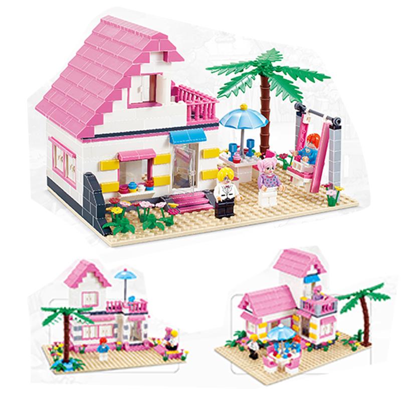 2017 New Bela Friends 10163 Heartlake Stables Girls Mia's Farm Building Blocks 383pcs/set Bricks toys Compatible with Legoe(China (Mainland))