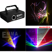Promotion Price! Nearly 1W 1000mW RGB animation laser light projector/professional stage lighting+professional laser software(China (Mainland))