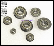 Buy 10pcs/Lot F624ZZ F624 ZZ 4x13x5mm Flange Bearing Deep Groove Ball Radial Ball Bearing Brand New for $5.01 in AliExpress store
