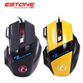 TK Hot sale Estone X7 Mouse Optical USB Wired Computer Gaming Mice Mause 7 Button 3200DPI