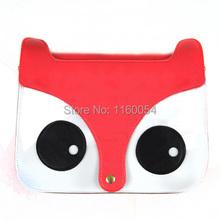Hotsale New Women Ladies Shoulder Bag Retro Fashion Handbags Animal pattern Cute School Tote Owl Fox PU Messenger Bags(China (Mainland))