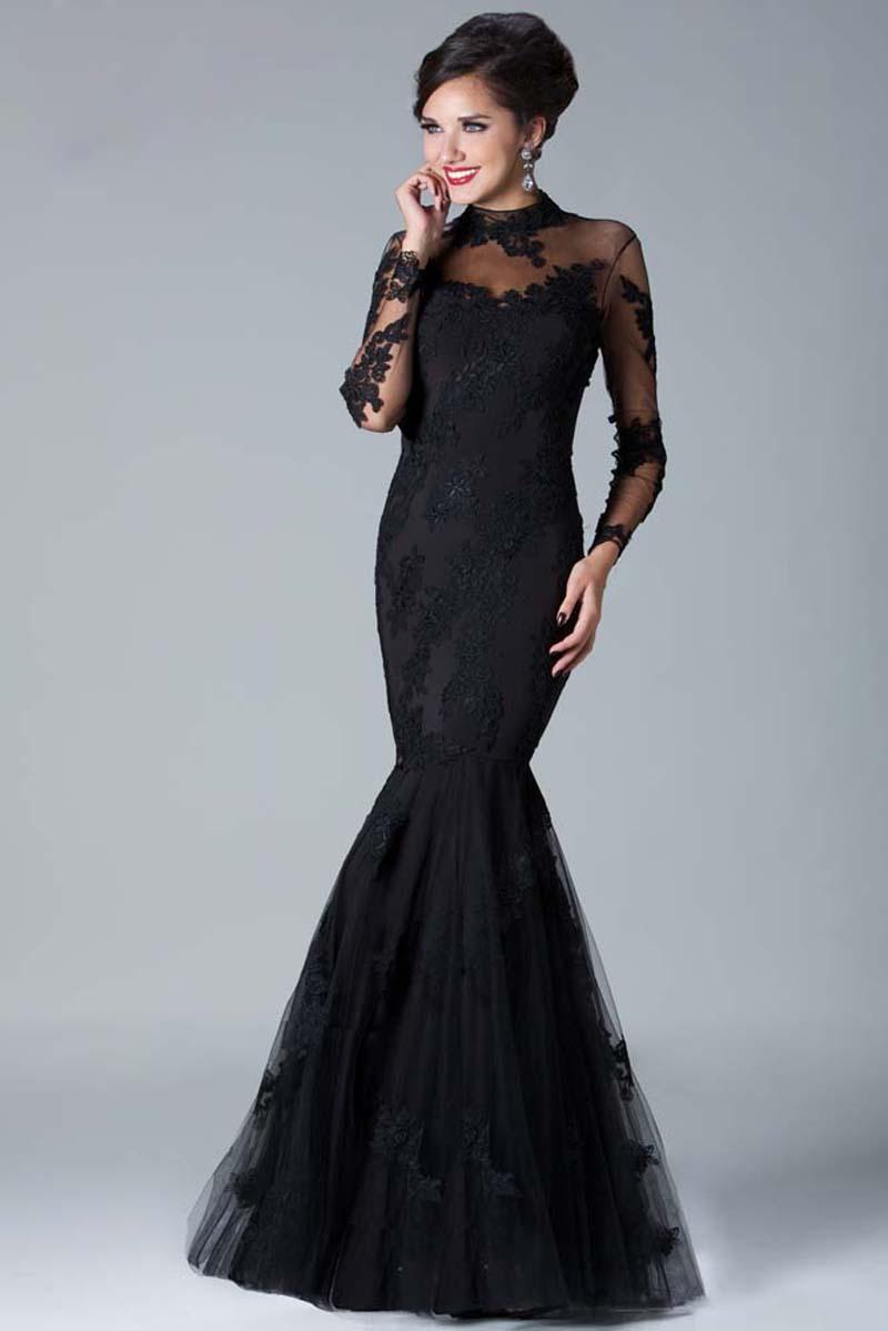 Full arm prom dresses - Dress on sale