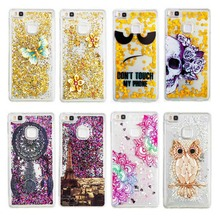 Buy Bling Glitter Stars Liquid Sand Sequins Colorful Dynamic Phone Case Quicksand Soft TPU Back Cover Huawei P8 Lite P9 Lite for $2.69 in AliExpress store