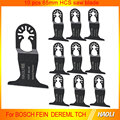 10 pcs 65mm quick release saw blades for oscillating tools as Fein multimaster TCH Dremel at