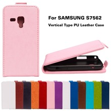 Buy PU Leather Flip Cover Samsung Galaxy Trend Plus GT S7580 / Trend Duos GT S7562 S7560 S Duos S7582 7562 Cases Housing Shell for $3.38 in AliExpress store