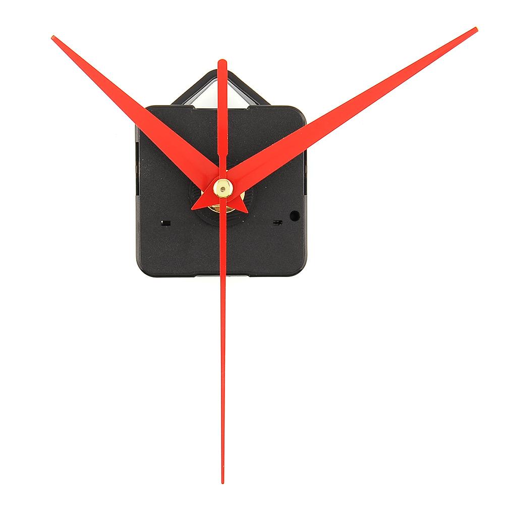 New Hot Quartz Clock Movement Mechanism Parts Repair Replacing Tools Set with Red Hands Quiet Silent(China (Mainland))