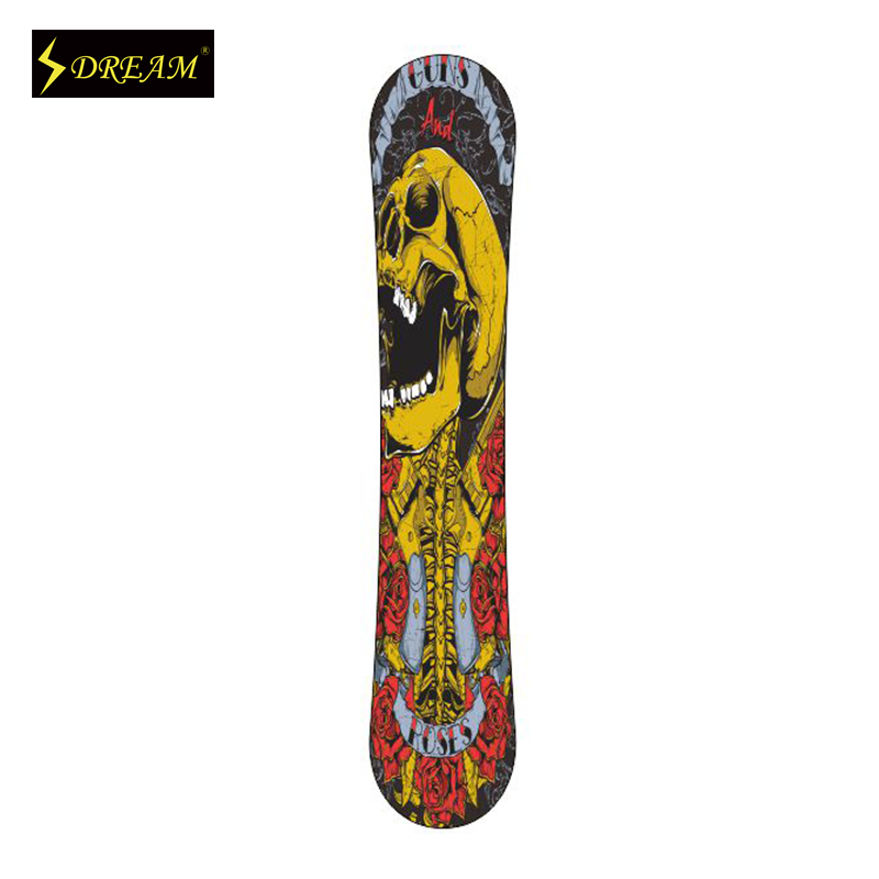 Customizable Flexible And Stable Snowboards Poplar Core Wood With Carbon Fiber And ABS Side Wall Adult Freeride Skiing Board(China (Mainland))