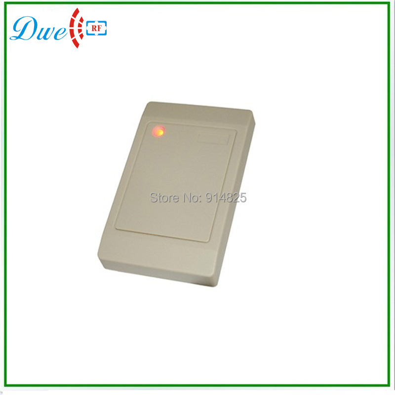 Free shipping wholesale 125khz em id rfid reader wiegand 26 bits wiegand 34 bits door access control system(China (Mainland))