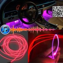 Ambient Rhythm Light Subaru Legacy / Liberty B4 Interior Music Sound DIY Car Atmosphere Refit Optic Fiber Band - Top Gear Shop store