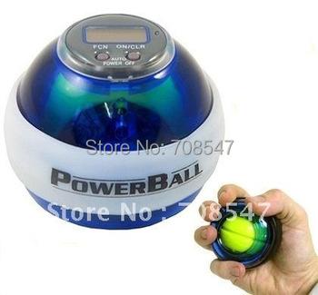 Power Gyroscope LED Wrist Strengthener Ball+SPEED METER/ Power Grip Ball/ Power Ball china post