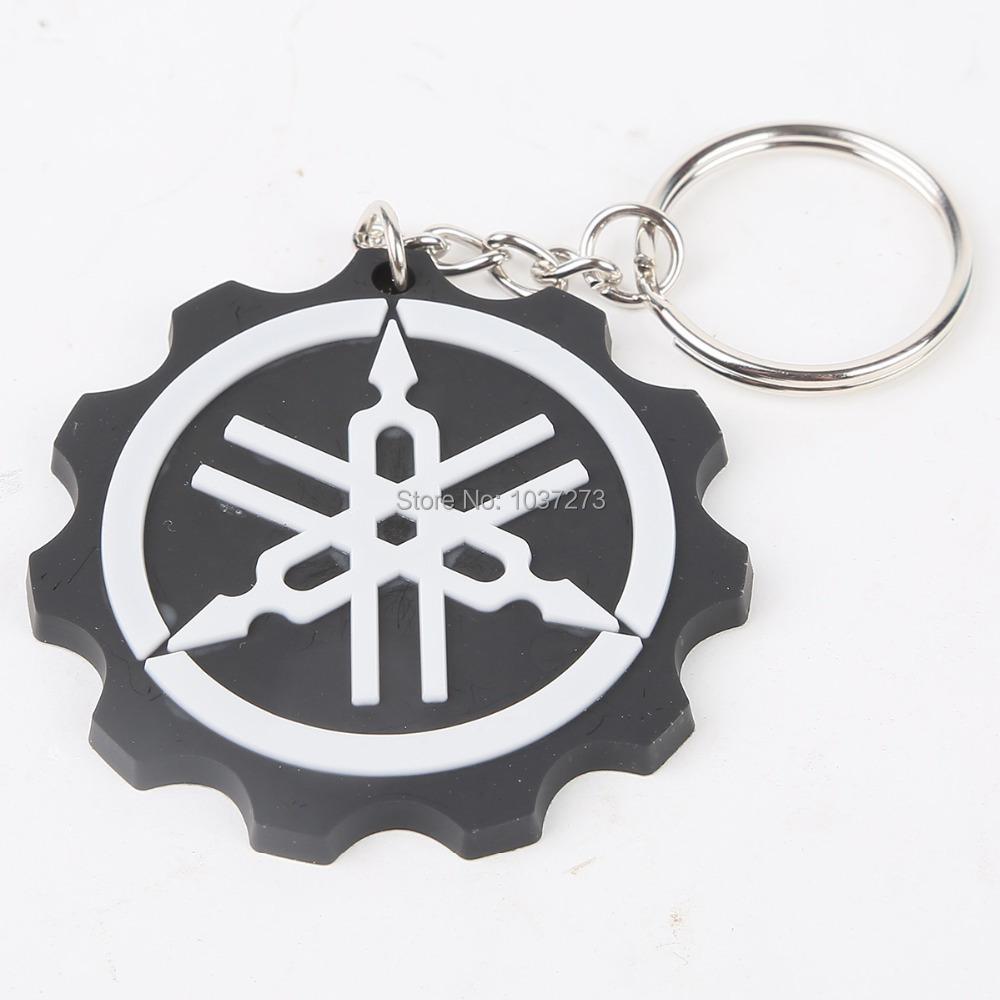 New Motorcycle Model Cool Keyring Keychain Key Chain Pendant For Yamaha Black(China (Mainland))