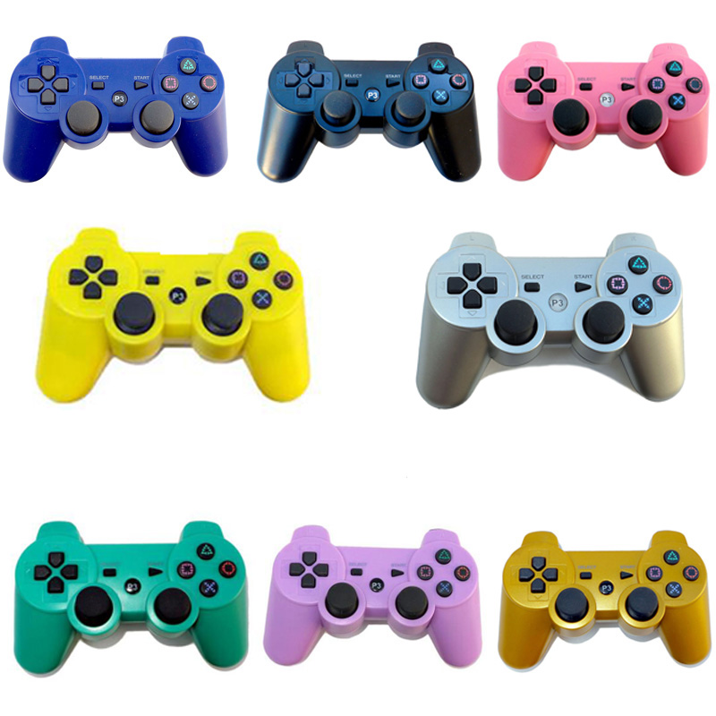 For Sony PS3 Controller Wireless Bluetooth Dual Vibration Gamepad For Sony Playstation 3 SIXAXIS Console Controle Mando Joystick(China (Mainland))