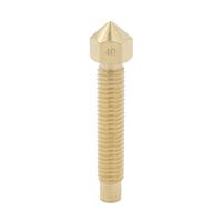 40mm length Brass E3D Lengthen Nozzle 0.4mm For 1.75mm or 3mm Filament M6*32 mm Copper long Nozzle Print Head For 3D Printer