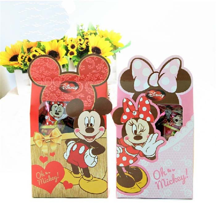 20 X Minnie/Mickey Candy Box Children Birthday Gift Baby Shower Wedding Party Favor - Rebecaa Yao's International Store store